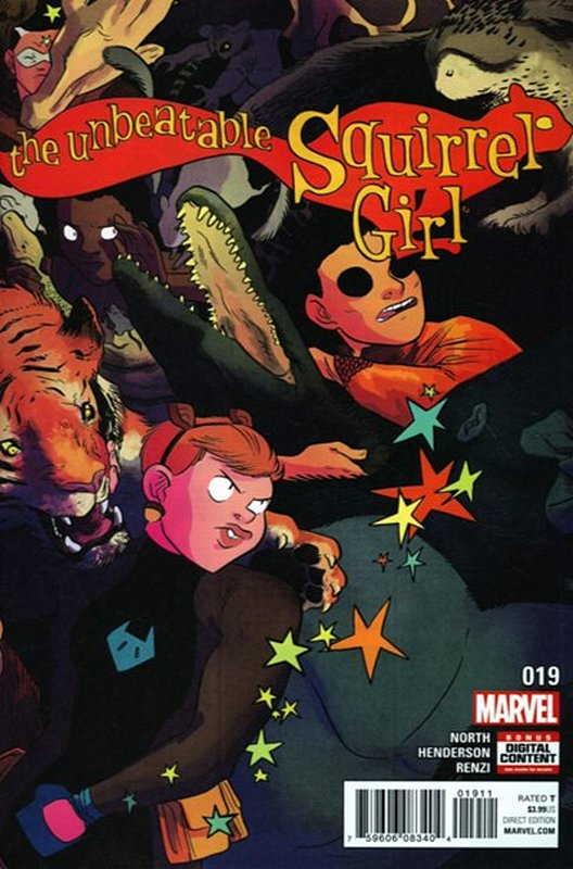 Cover of Unbeatable Squirrel Girl (Vol 2) #19. One of 250,000 Vintage American Comics on sale from Krypton!