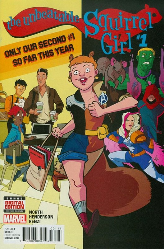 Cover of Unbeatable Squirrel Girl (Vol 2) #1. One of 250,000 Vintage American Comics on sale from Krypton!