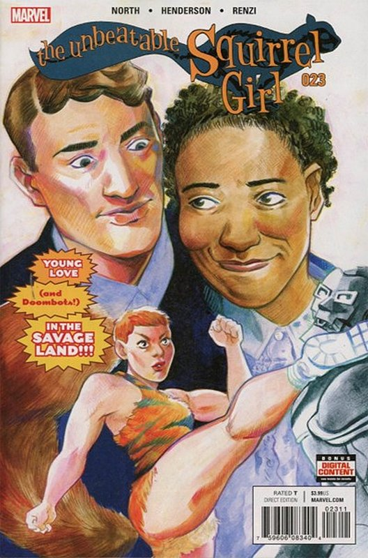 Cover of Unbeatable Squirrel Girl (Vol 2) #23. One of 250,000 Vintage American Comics on sale from Krypton!
