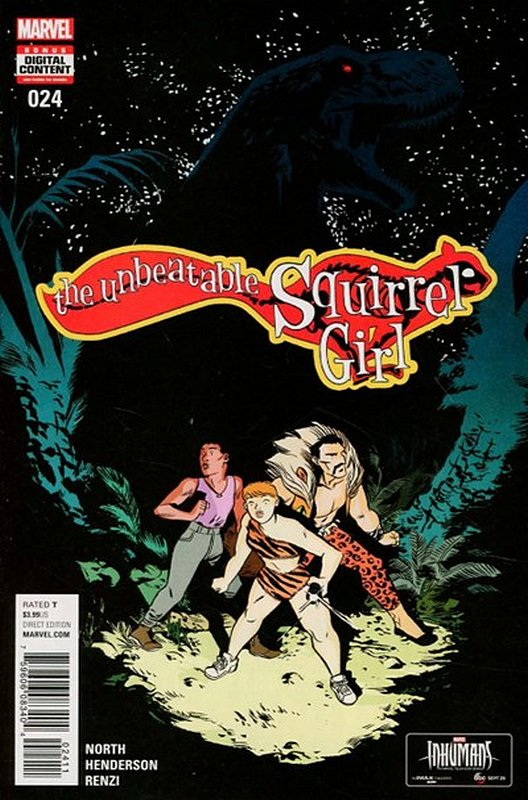 Cover of Unbeatable Squirrel Girl (Vol 2) #24. One of 250,000 Vintage American Comics on sale from Krypton!