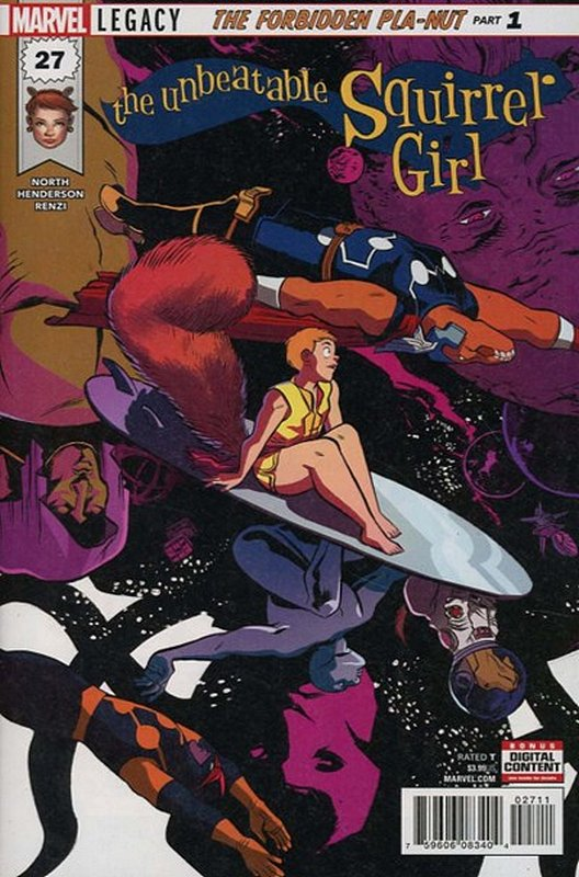 Cover of Unbeatable Squirrel Girl (Vol 2) #27. One of 250,000 Vintage American Comics on sale from Krypton!