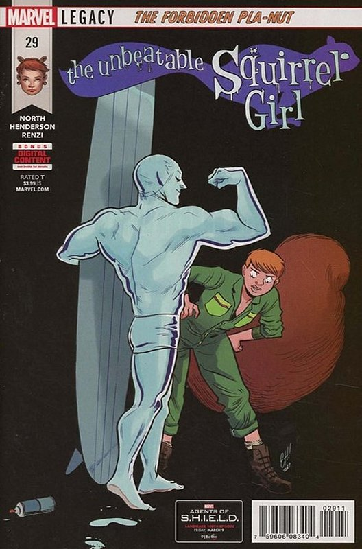Cover of Unbeatable Squirrel Girl (Vol 2) #29. One of 250,000 Vintage American Comics on sale from Krypton!