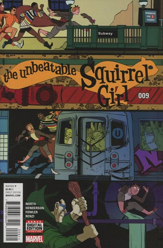 Cover of Unbeatable Squirrel Girl (Vol 2) #9. One of 250,000 Vintage American Comics on sale from Krypton!