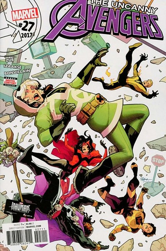 Cover of Uncanny Avengers (Vol 3) #27. One of 250,000 Vintage American Comics on sale from Krypton!