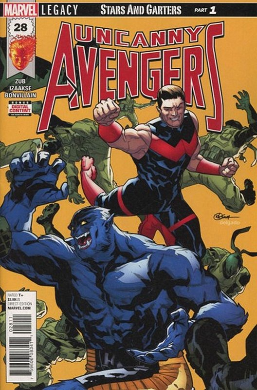 Cover of Uncanny Avengers (Vol 3) #28. One of 250,000 Vintage American Comics on sale from Krypton!