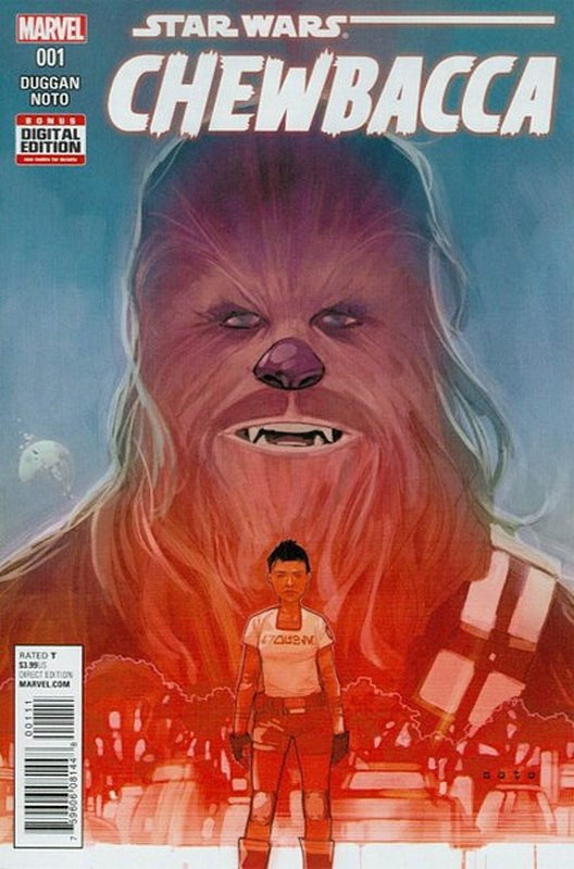 Cover of Chewbacca (2015 Ltd) #1. One of 250,000 Vintage American Comics on sale from Krypton!