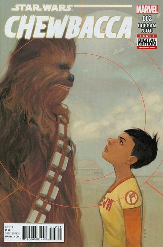 Cover of Chewbacca (2015 Ltd) #2. One of 250,000 Vintage American Comics on sale from Krypton!