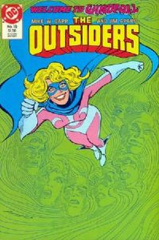 Cover of Outsiders (Vol 1) #19. One of 250,000 Vintage American Comics on sale from Krypton!