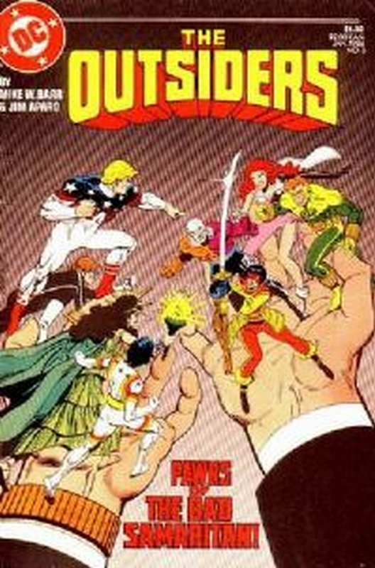 Cover of Outsiders (Vol 1) #3. One of 250,000 Vintage American Comics on sale from Krypton!