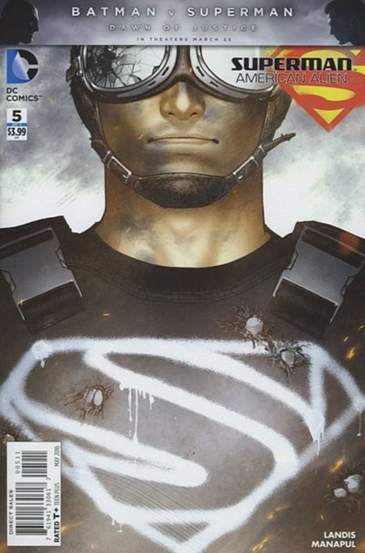 Cover of Superman: American Alien (2015 Ltd) #5. One of 250,000 Vintage American Comics on sale from Krypton!