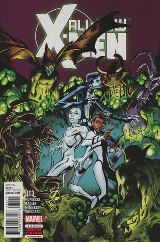 Cover of X-men (Vol 2) The All New #13. One of 250,000 Vintage American Comics on sale from Krypton!
