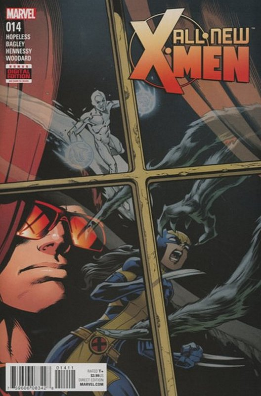Cover of X-men (Vol 2) The All New #14. One of 250,000 Vintage American Comics on sale from Krypton!
