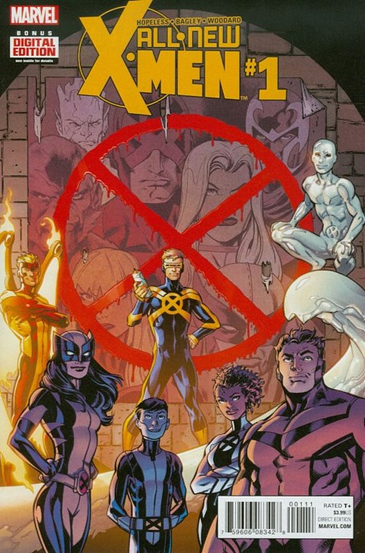 Cover of X-men (Vol 2) The All New #1. One of 250,000 Vintage American Comics on sale from Krypton!