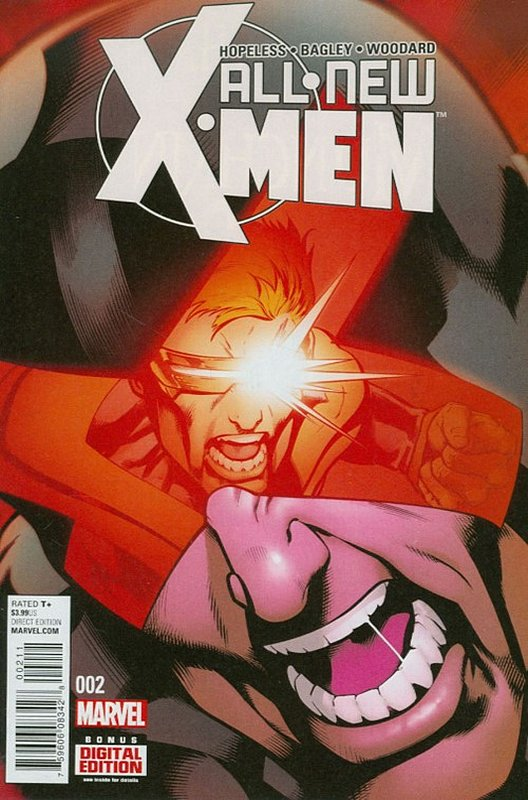 Cover of X-men (Vol 2) The All New #2. One of 250,000 Vintage American Comics on sale from Krypton!
