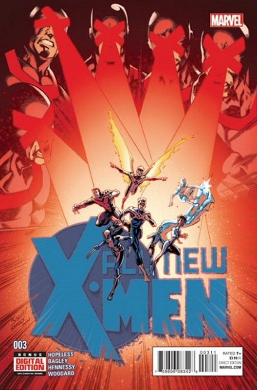 Cover of X-men (Vol 2) The All New #3. One of 250,000 Vintage American Comics on sale from Krypton!