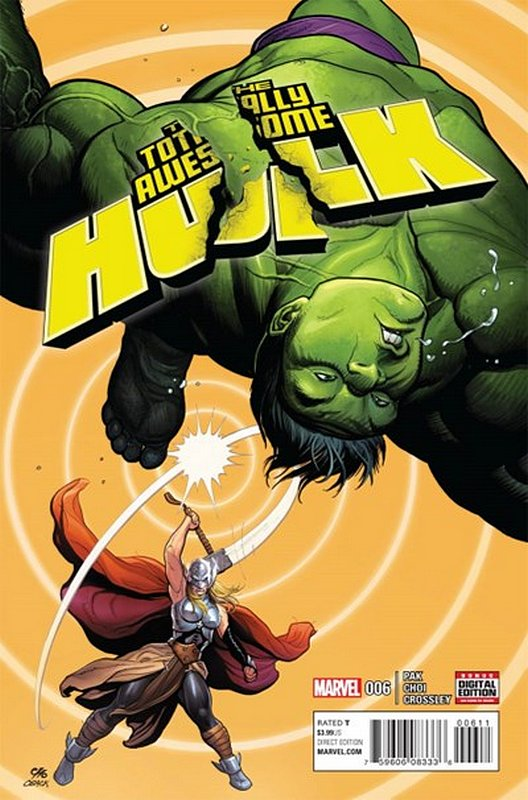 Cover of Totally Awesome Hulk (Vol 1) #6. One of 250,000 Vintage American Comics on sale from Krypton!