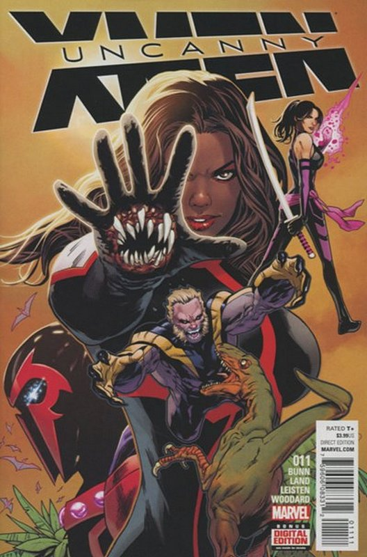 Cover of Uncanny X-Men (Vol 4) #11. One of 250,000 Vintage American Comics on sale from Krypton!