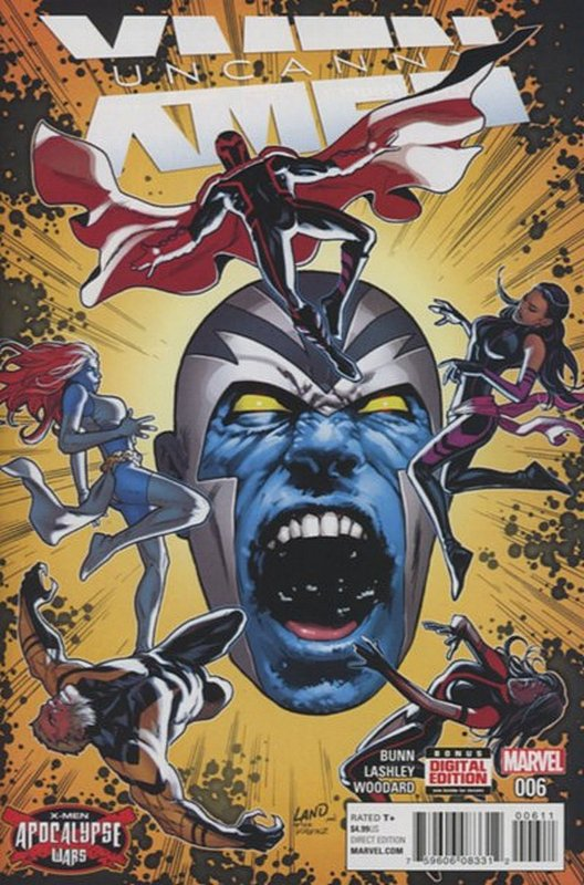 Cover of Uncanny X-Men (Vol 4) #6. One of 250,000 Vintage American Comics on sale from Krypton!