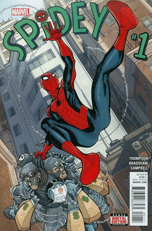 Cover of Spidey (Vol 1) #1. One of 250,000 Vintage American Comics on sale from Krypton!