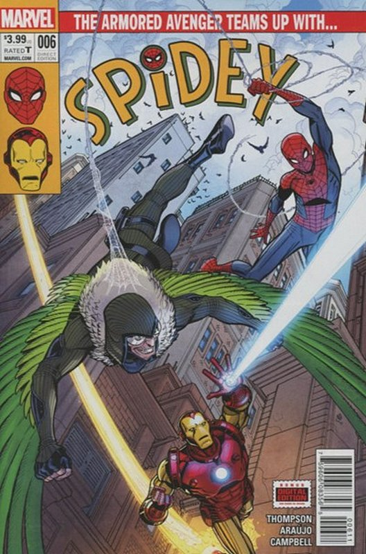 Cover of Spidey (Vol 1) #6. One of 250,000 Vintage American Comics on sale from Krypton!