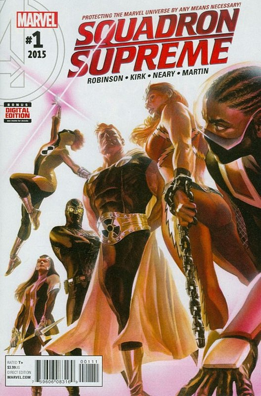 Cover of Squadron Supreme (Vol 3) #1. One of 250,000 Vintage American Comics on sale from Krypton!