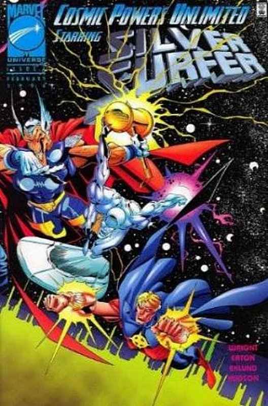 Cover of Cosmic Powers Unlimited (1995 Ltd) #4. One of 250,000 Vintage American Comics on sale from Krypton!