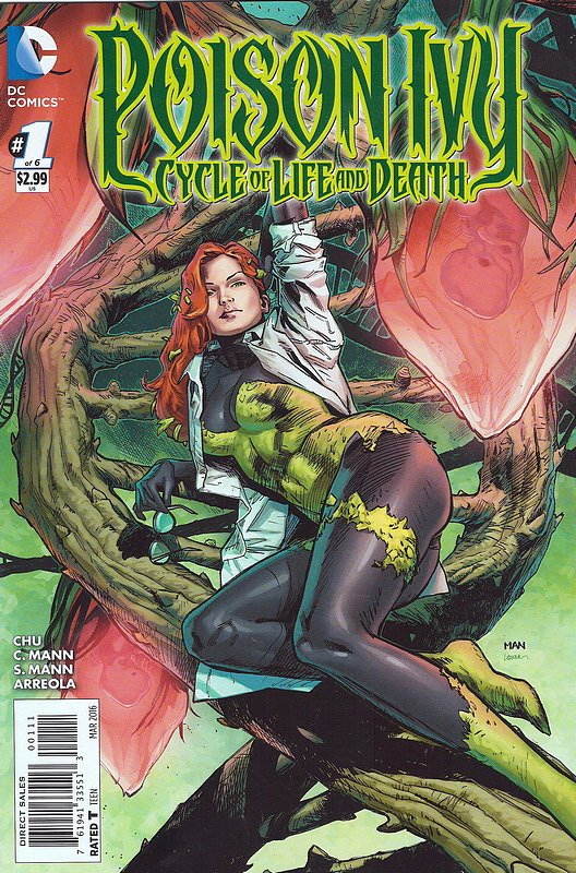 Cover of Poison Ivy: Cycle of Life & Death (2016 Ltd) #1. One of 250,000 Vintage American Comics on sale from Krypton!