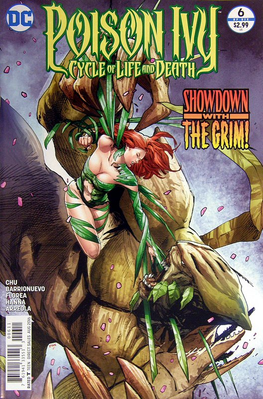 Cover of Poison Ivy: Cycle of Life & Death (2016 Ltd) #6. One of 250,000 Vintage American Comics on sale from Krypton!
