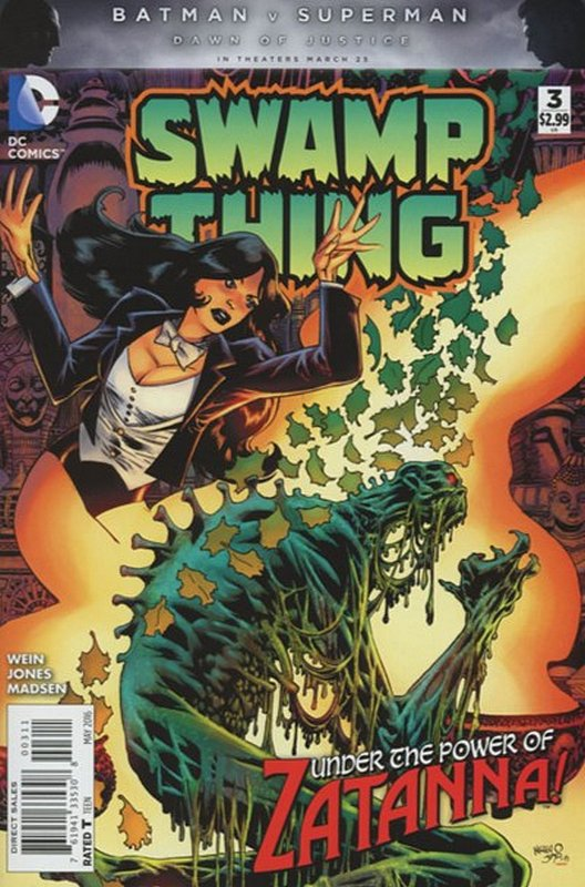 Cover of Swamp Thing (2016 Ltd) #3. One of 250,000 Vintage American Comics on sale from Krypton!