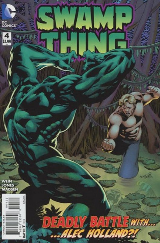 Cover of Swamp Thing (2016 Ltd) #4. One of 250,000 Vintage American Comics on sale from Krypton!