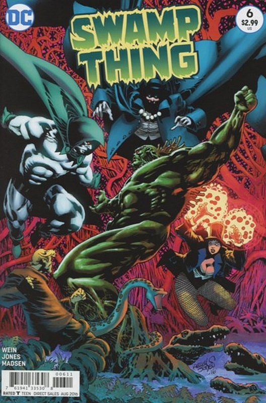 Cover of Swamp Thing (2016 Ltd) #6. One of 250,000 Vintage American Comics on sale from Krypton!