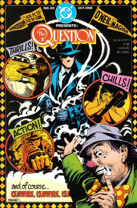 Cover of Question (Vol 1) The #20. One of 250,000 Vintage American Comics on sale from Krypton!