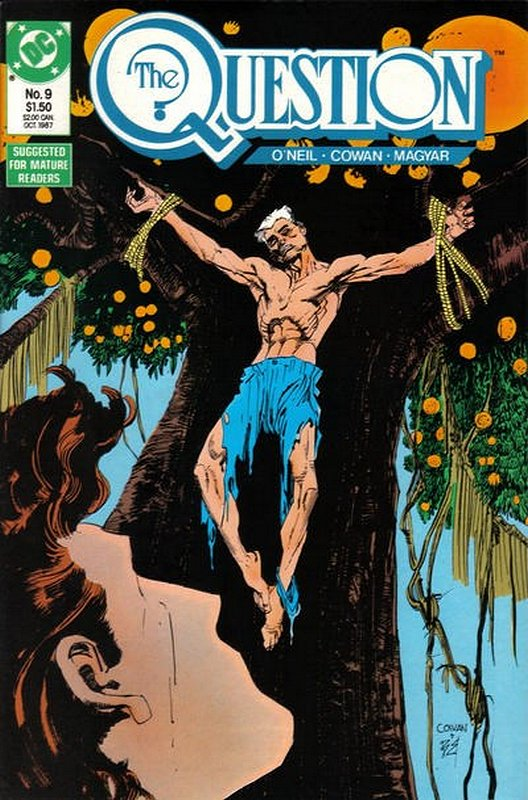 Cover of Question (Vol 1) The #9. One of 250,000 Vintage American Comics on sale from Krypton!