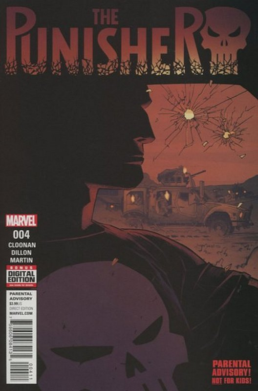 Cover of Punisher (Vol 7) #4. One of 250,000 Vintage American Comics on sale from Krypton!