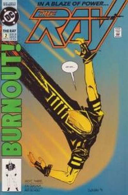 Cover of Ray (1992 Ltd) The #2. One of 250,000 Vintage American Comics on sale from Krypton!