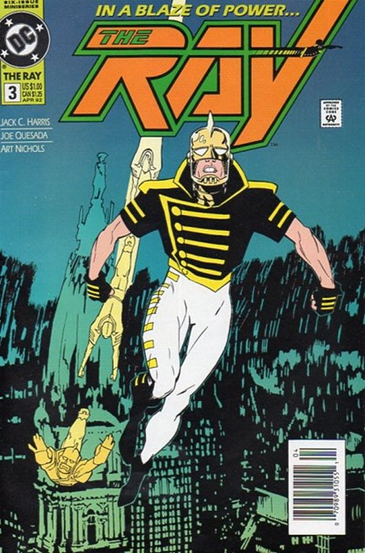 Cover of Ray (1992 Ltd) The #3. One of 250,000 Vintage American Comics on sale from Krypton!