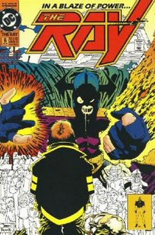 Cover of Ray (1992 Ltd) The #6. One of 250,000 Vintage American Comics on sale from Krypton!