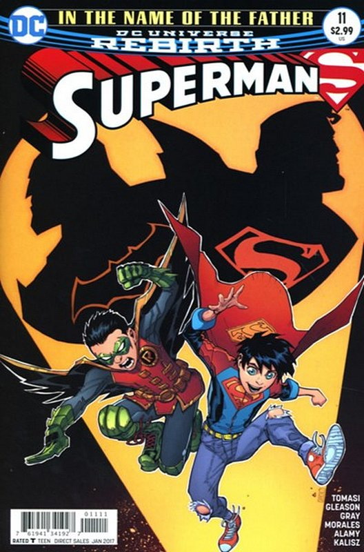 Cover of Superman (Vol 5) #11. One of 250,000 Vintage American Comics on sale from Krypton!