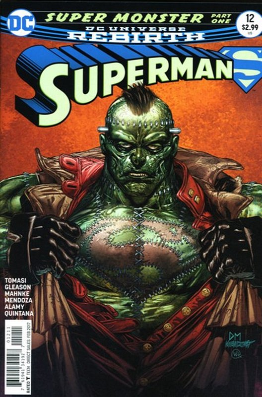 Cover of Superman (Vol 5) #12. One of 250,000 Vintage American Comics on sale from Krypton!