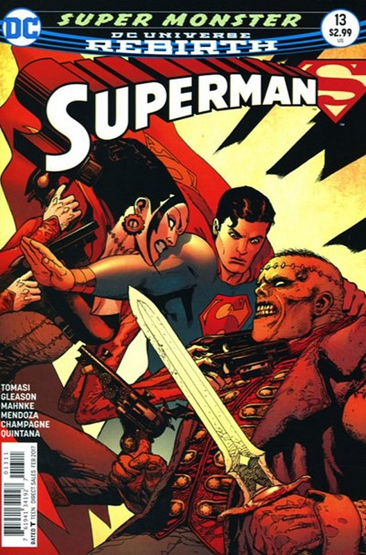Cover of Superman (Vol 5) #13. One of 250,000 Vintage American Comics on sale from Krypton!