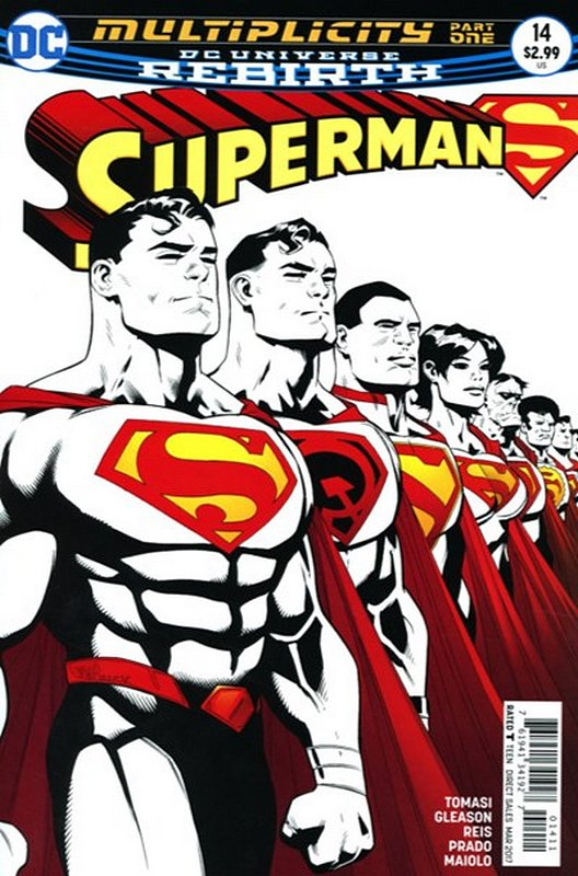 Cover of Superman (Vol 5) #14. One of 250,000 Vintage American Comics on sale from Krypton!