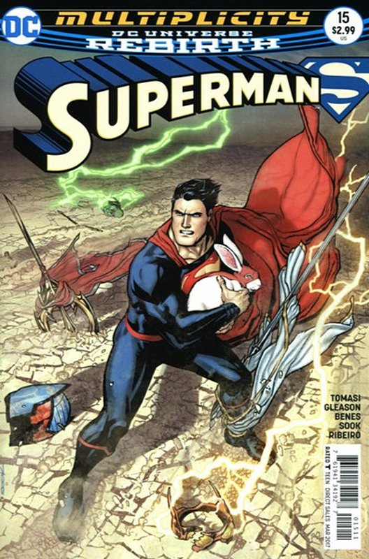 Cover of Superman (Vol 5) #15. One of 250,000 Vintage American Comics on sale from Krypton!