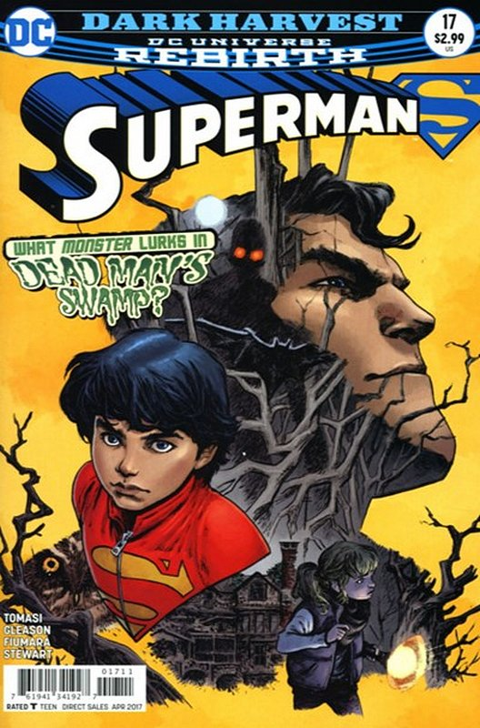 Cover of Superman (Vol 5) #17. One of 250,000 Vintage American Comics on sale from Krypton!