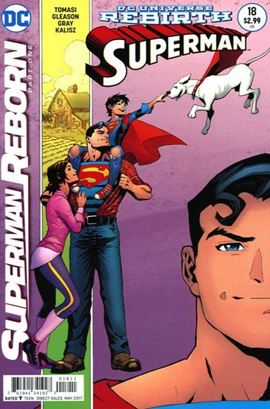 Cover of Superman (Vol 5) #18. One of 250,000 Vintage American Comics on sale from Krypton!