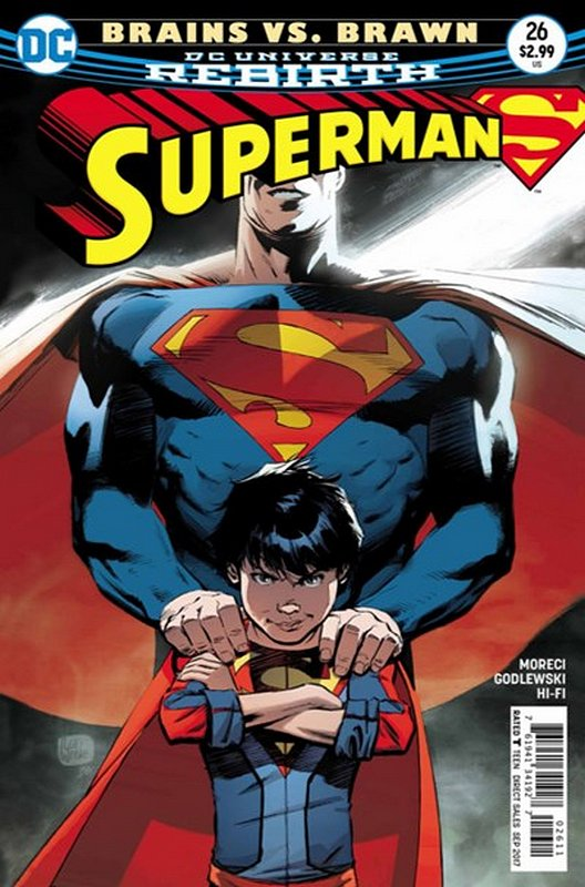 Cover of Superman (Vol 5) #26. One of 250,000 Vintage American Comics on sale from Krypton!