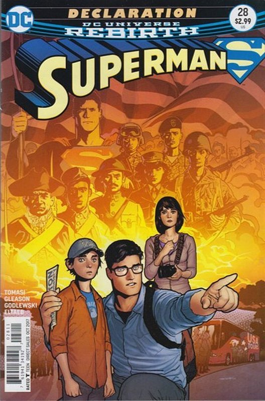 Cover of Superman (Vol 5) #28. One of 250,000 Vintage American Comics on sale from Krypton!