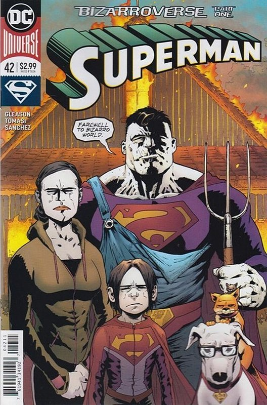 Cover of Superman (Vol 5) #42. One of 250,000 Vintage American Comics on sale from Krypton!