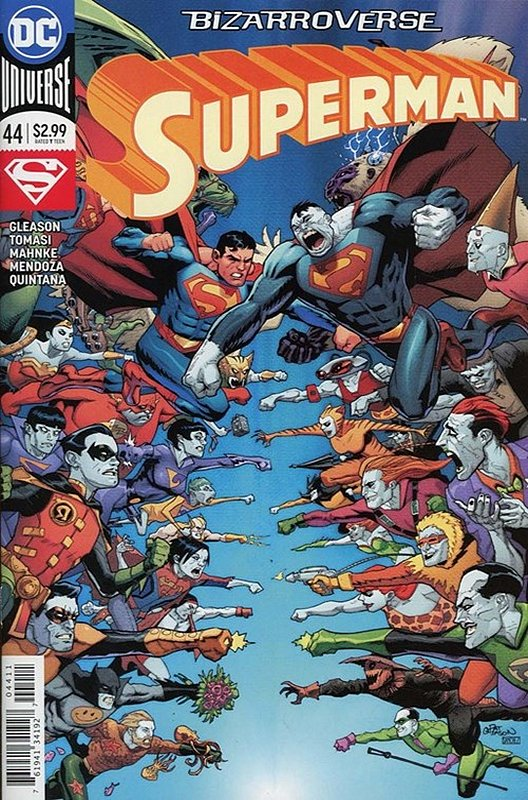 Cover of Superman (Vol 5) #44. One of 250,000 Vintage American Comics on sale from Krypton!