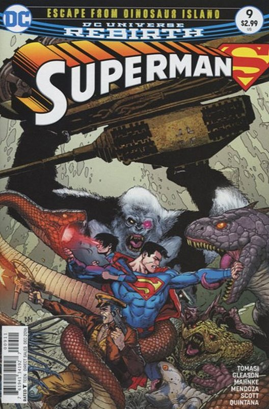 Cover of Superman (Vol 5) #9. One of 250,000 Vintage American Comics on sale from Krypton!