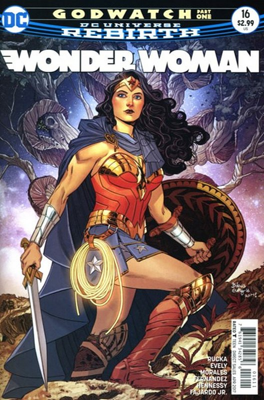 Cover of Wonder Woman (Vol 5) #16. One of 250,000 Vintage American Comics on sale from Krypton!